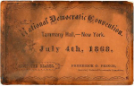 1868 National Democratic Convention Ticket Price Guide