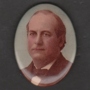 Election of 1900 William Jennings Bryan Portrait Buttons