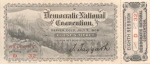 1908 National Democratic Convention Ticket Price Guide