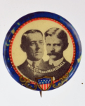 Election of 1912 Woodrow Wilson Jugate Buttons