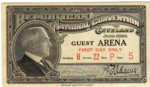 1924 National Republican Convention Ticket Prices