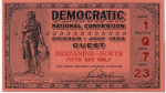 1952 National Democratic Convention Ticket Price Guide