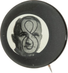 Election of 1948 Harry Truman 8 Ball Buttons