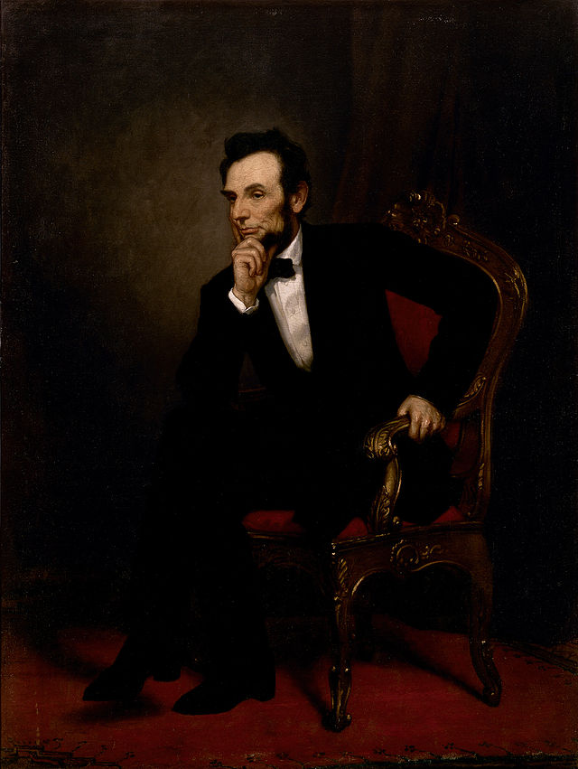 Abraham Lincoln Presidential ChinaPortrait