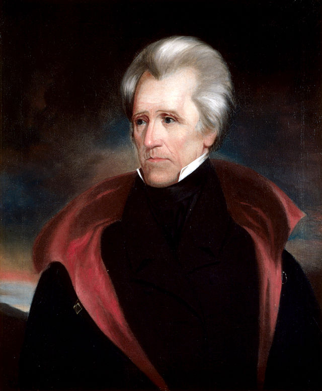 Andrew Jackson Presidential ChinaPortrait