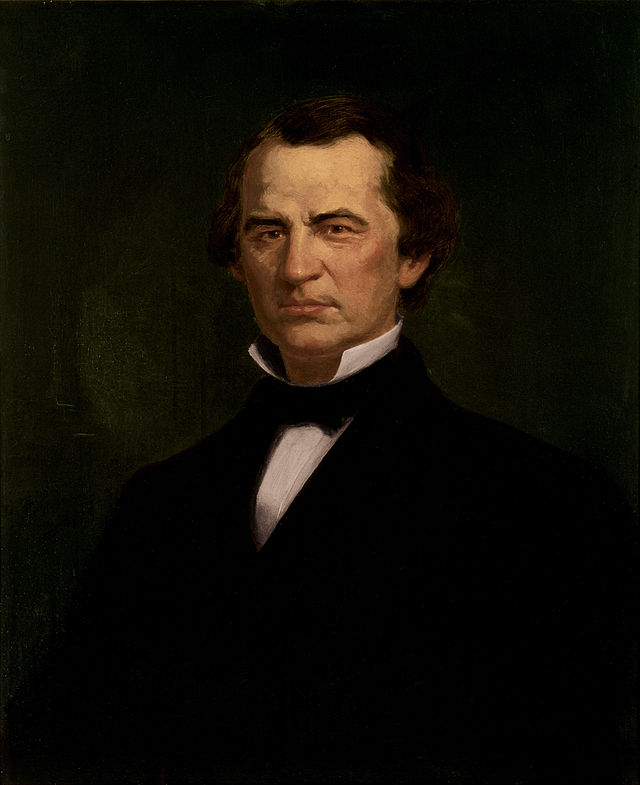 Andrew Johnson Presidential ChinaPortrait