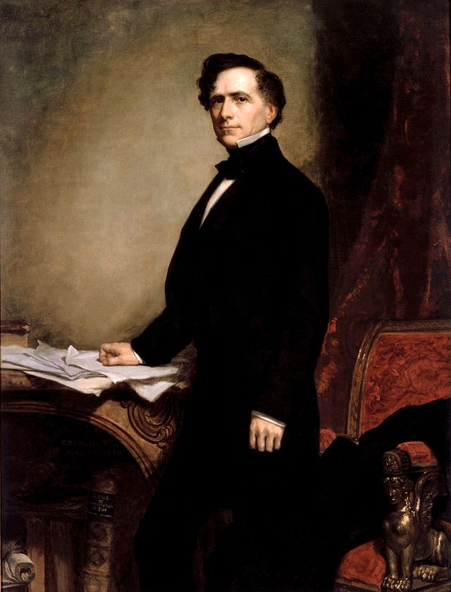 Franklin Pierce Presidential ChinaPortrait