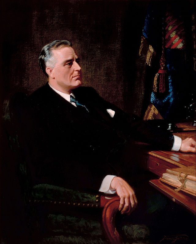 Franklin D. Roosevelt Presidential ChinaPortrait