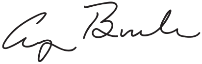 George H.W. Bush Presidential China Signature