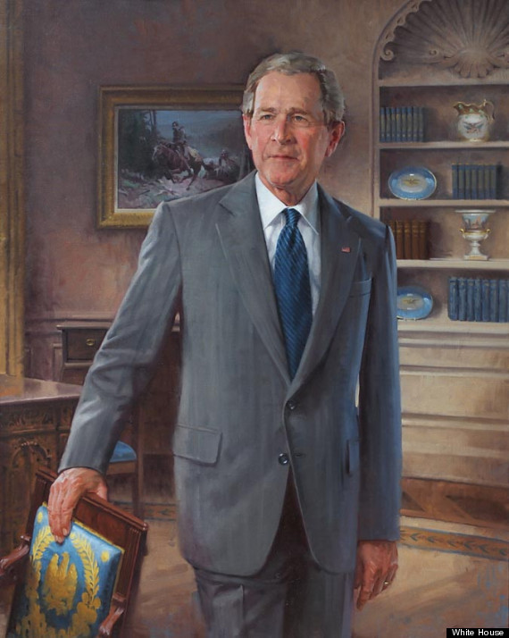 George W. Bush Presidential ChinaPortrait