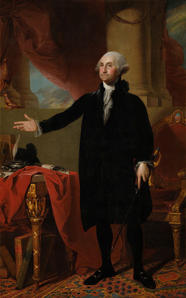 George Washington Presidential ChinaPortrait