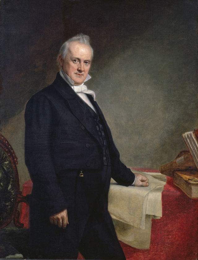 James Buchanan Presidential ChinaPortrait