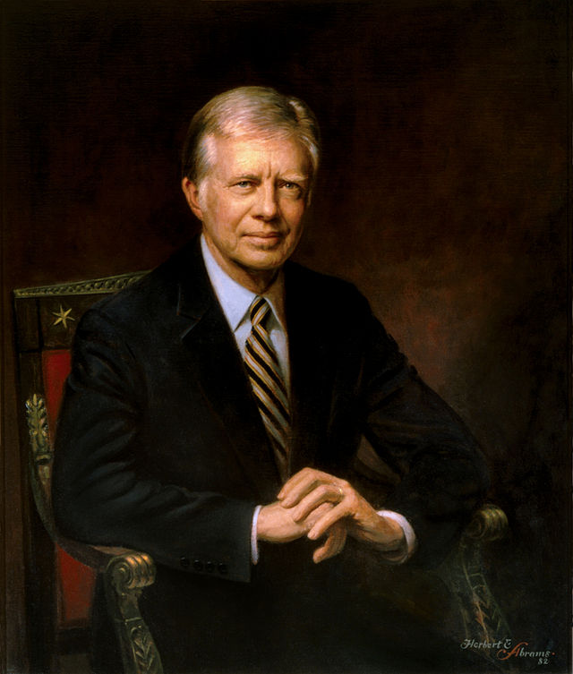 Jimmy Carter Presidential ChinaPortrait
