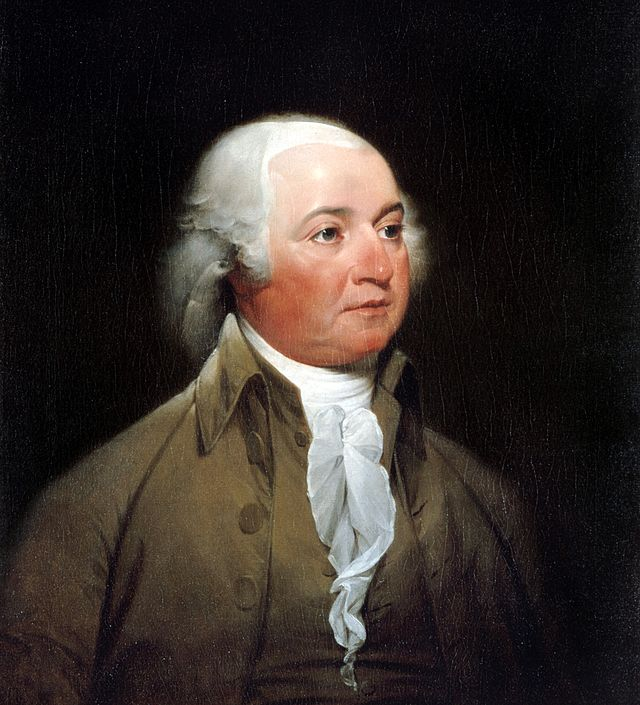 John Adams Presidential ChinaPortrait