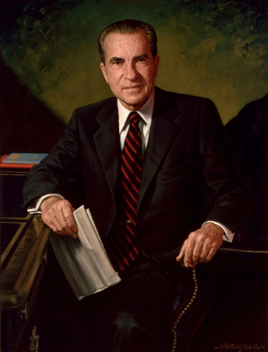 Richard Nixon Presidential ChinaPortrait