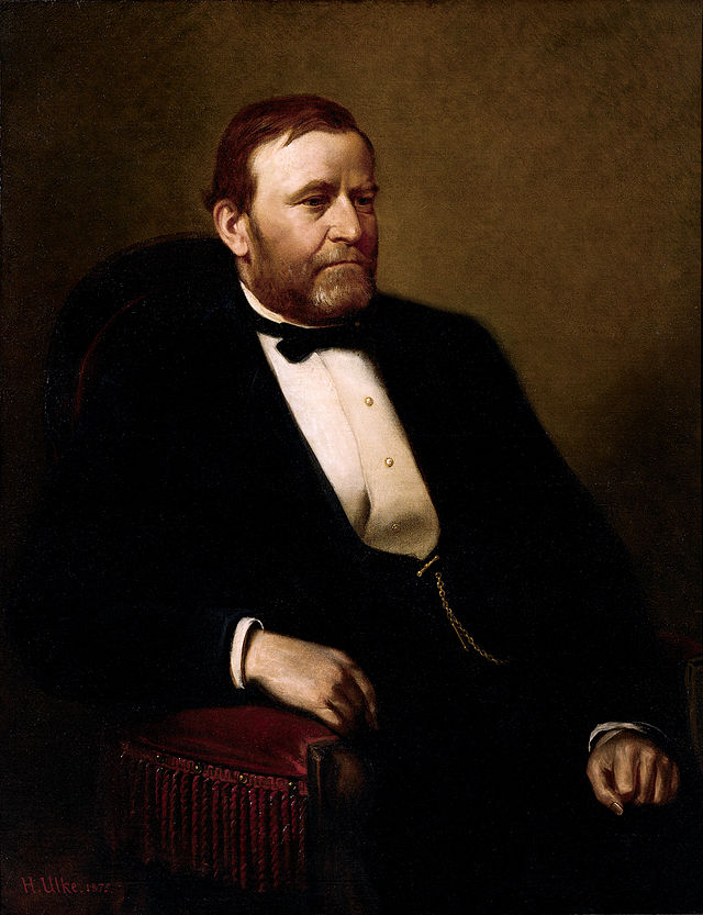 Ulysses S. Grant Presidential ChinaPortrait