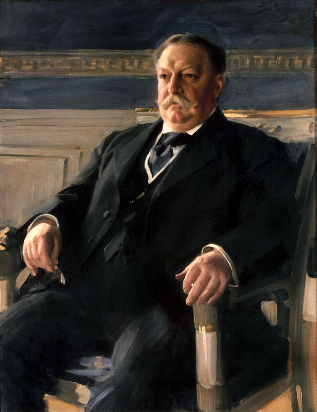 William Howard Taft Presidential ChinaPortrait