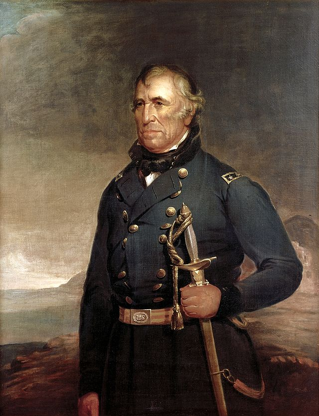 Zachary Taylor Presidential ChinaPortrait
