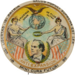 Election of 1900 William Jennings Bryan Anti-Expansion Buttons