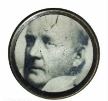James Buchanan Political Button