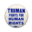 Election of 1948 Harry Truman Civil Rights Buttons