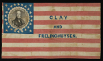 Henry Clay 1844 Political Campaign Flag