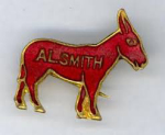 Election of 1928 Alfred Smith Donkey Buttons