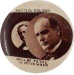 Election of 1900 William McKinley The Eclipse Buttons