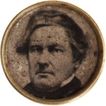 Millard Fillmore Political Button