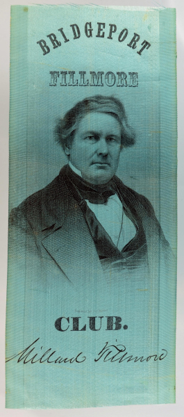 Millard Fillmore Political Ribbon