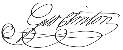 Thomas Jefferson Political Items Signature