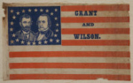 Ulysses S. Grant 1872 Political Campaign Flag