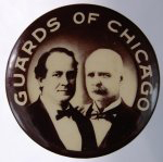 Election of 1900 William Jennings Bryan Guards of Chicago Buttons