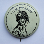 Election of 1952 Adlai Stevenson I Like Stevenson Buttons