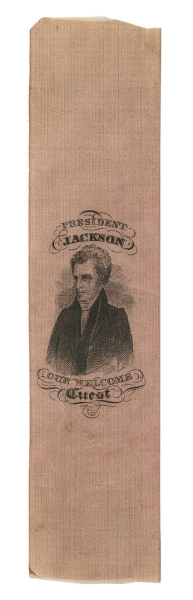 Andrew Jackson Political Ribbons