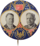 Election of 1928 Herbert Hoover Jugate Buttons