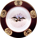 James Monroe Presidential China