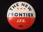 Election of 1960 John F. Kennedy The New Frontier Buttons