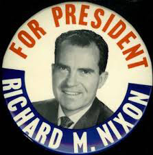 Election of 1960 Richard Nixon Portrait Buttons