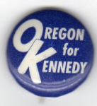 Election of 1960 John F. Kennedy Oregon for Kennedy Buttons