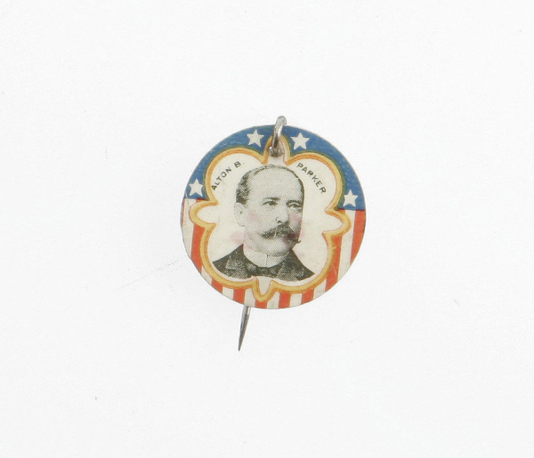 Election of 1904 Alton Parker Portrait Buttons