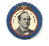 Election of 1908 William Jennings Bryan Peace Buttons