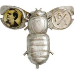 Election of 1896 William Jennings Bryan Silverbug Buttons
