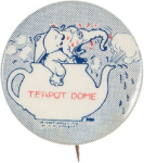 Election of 1924 John W. Davis Teapot Dome Buttons