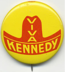 Election of 1960 John F. Kennedy Viva Kennedy Buttons