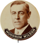 Election of 1916 Woodrow Wilson Portrait Buttons